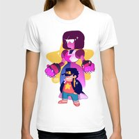 jjba T-shirts featuring steven and his stand by JohannaTheMad