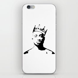 PORTRAIT OF THE BEST RAPPER OF ALL TIMES iPhone Skin