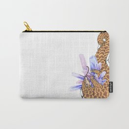 Crystal Pangolin Carry-All Pouch