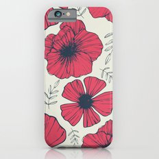 Raspberry Flowers iPhone 6 Slim Case
