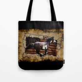The Pony Express Tote Bag