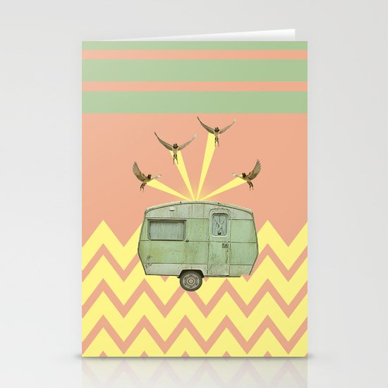 The best way to travel Stationery Cards