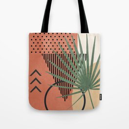 Nature Geometry II Tote Bag