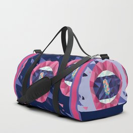 Rainbow Pills in my Mouth - Triangled Lips Duffle Bag