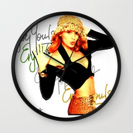 Kylie Minogue Enjoy Yourself Wall Clock
