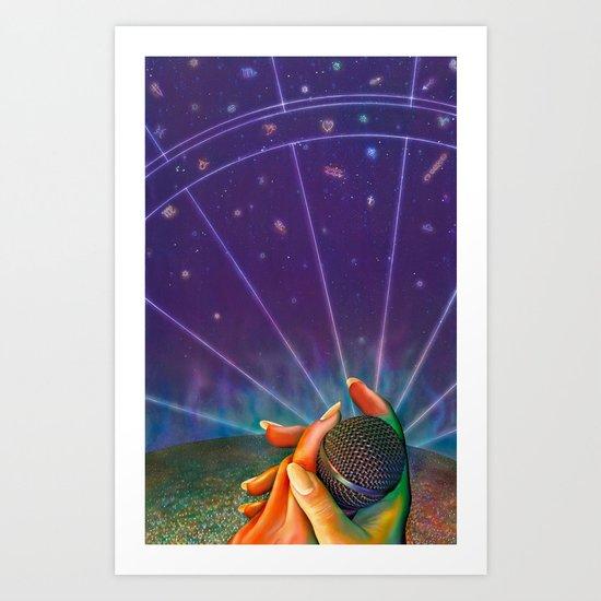 Enigma Concert Art Print