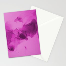 pink cotton candy Stationery Cards