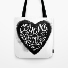 Wholehearted Solid Heart by Heidi Appel Tote Bag