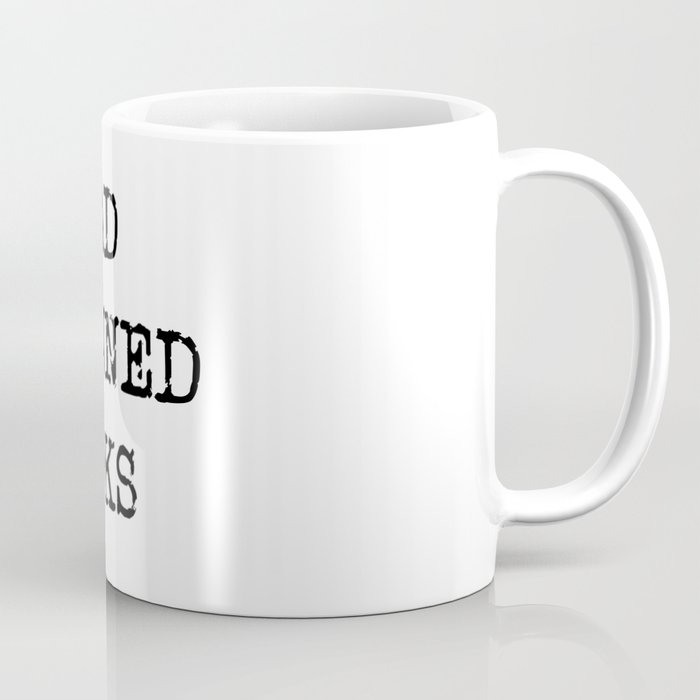 Read Banned Books Coffee Mug