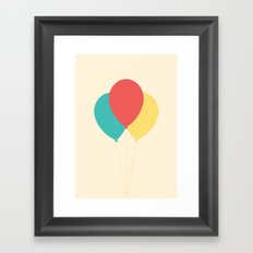 #45 Balloons Framed Art Print