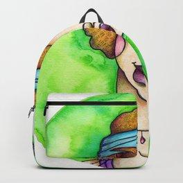 JennyMannoArt Watercolored Illustration/Sophie by JennyMannoArt Backpack
