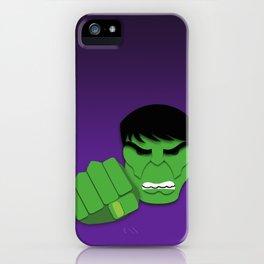Hulk Smash! iPhone Case