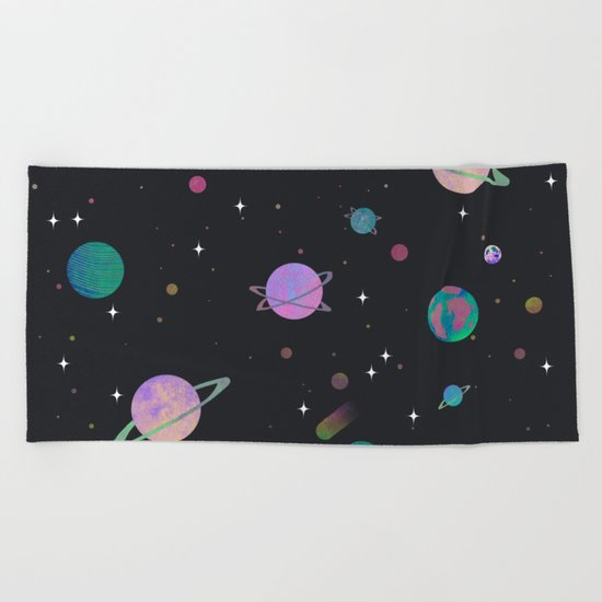 outerspace Beach Towel