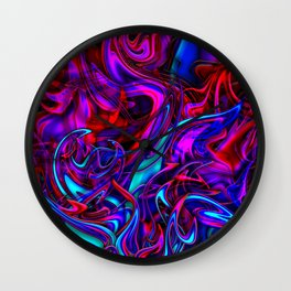 Blacklight Wall Clock