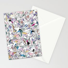 Geometricly Speaking Stationery Cards