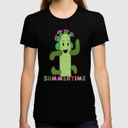 Cactus Family (colour version) T-shirt