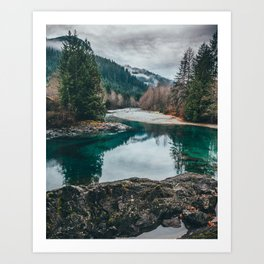 The Pacific NorthWest Art Print
