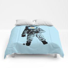 Goldfish Astronaut Comforters