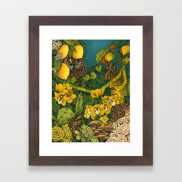 Aureate Framed Art Print