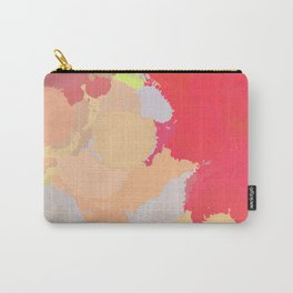 Red abstract splatter Carry-All Pouch