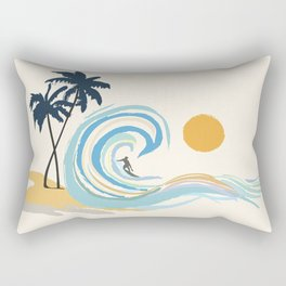 Minimalistic Summer II Rectangular Pillow