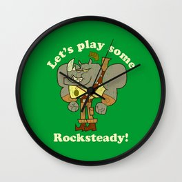 Rocksteady Wall Clock