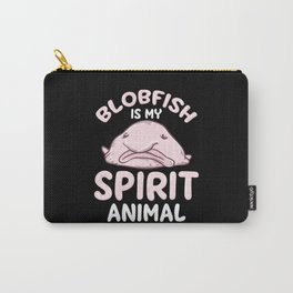 Blobfish Spirit Animal - Gift Carry-All Pouch