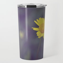 Miss Yellow Daisy Travel Mug