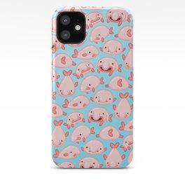 Blobfish Pattern iPhone Case