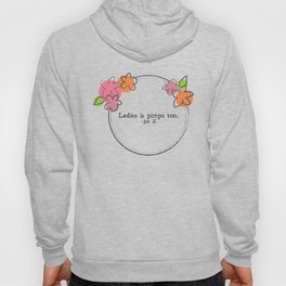 Floral - Ladies Hoody