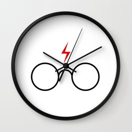 harry.potter glasses Wall Clock