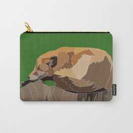 Precarious Snooze Low Poly Carry-All Pouch