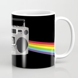 Dark Side of the Boombox Coffee Mug