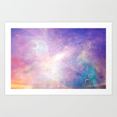 World Above Art Print