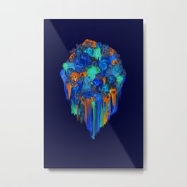 Melt into the Night Metal Print