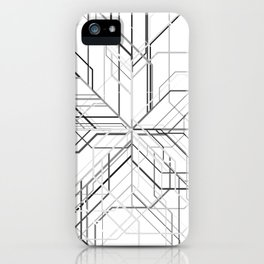 Wyre White iPhone Case