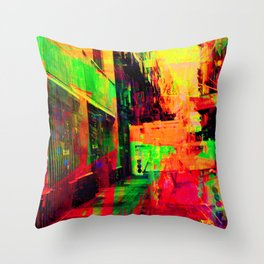 Severe angles nomenclature to put aside usualness. Throw Pillow