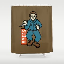 Michael Meyers Shower Curtain