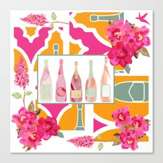 Champagne Everyday Canvas Print