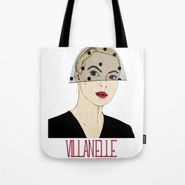 Villanelle, Killing Eve in black veil Tote Bag