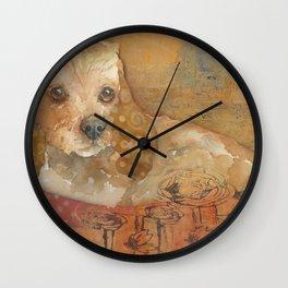 The Cozy Cocker Wall Clock