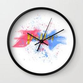 Puddin' Wall Clock