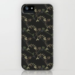 fish pattern iPhone Case