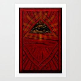 STOP WATCHING US - 001 Art Print