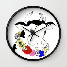 Cutie cow Wall Clock