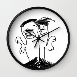 The Scholar Wall Clock