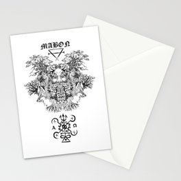 Mabon the Forest's Spirit Stationery Cards