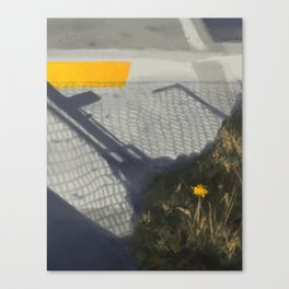 Speedpaint - Dandelion Canvas Print