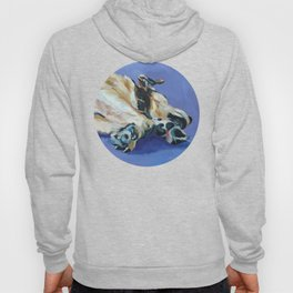 A Dog's Paws Portrait Hoody