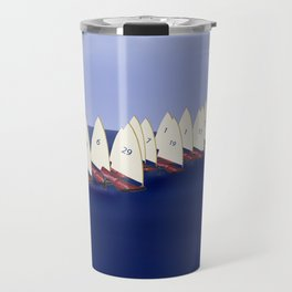 In May, May's Regatta - shoes stories Travel Mug
